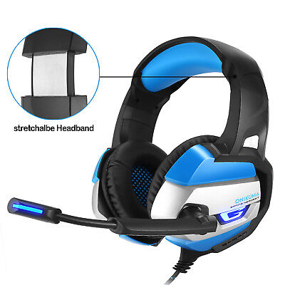 ONIKUMA K5 Stereo Gaming Headset for PS4 PC Xbox One Controller Over Ear 2019