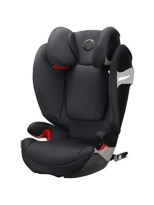 CYBEX GOLD S SOLUTION S-FIX GROUP 2/3 BLACK CAR SEAT 3 TO 12 YEARS OLD Booster