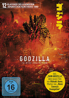 Godzilla - 12-Disc Limited Collection - (DVD)