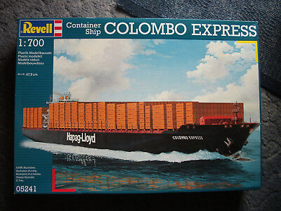 """Revell 05241 """"Colombo Express"""" m. Container-Sets  1:700"""