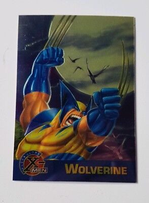 "Fleer Ultra X Men Chromium Promo Karte "" Wolverine "" Marvel Trading Cards"