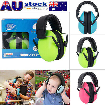 Autistic ASD Hypersensitive Infant Baby Kids CHILDREN DEFENDERS NOISE EAR MUFFS