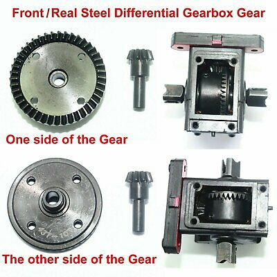 1/8 Front+Rear Steel Differential Gearbox Gear for ARRMA KRATON TALION OUTCAST