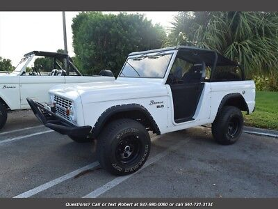 1974 Bronco  1974 Ford Bronco 3 Speed Manual Convertible+Hard Top FL