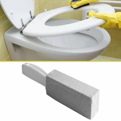 Natural Pumice Stone Toilets Cleaning Brush With Long Handle Stone Cleaner MC