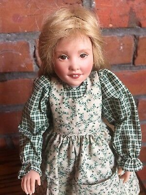 Kish & Co Hannah Children of Yesteryear Blonde Pioneer Girl 1993 Preowned