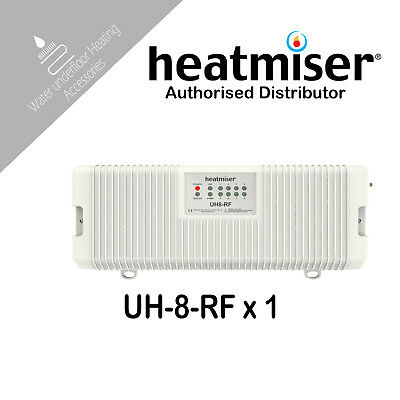 Heatmiser UH8 RF 8 Zone Wireless Wiring Centre Water heatmiser uh8 wiring centre £64 79 picclick uk