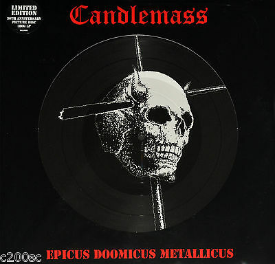 Candlemass - Epicus Doomicus Metallicus, 2016 Record Store Day Picture Disc Lp