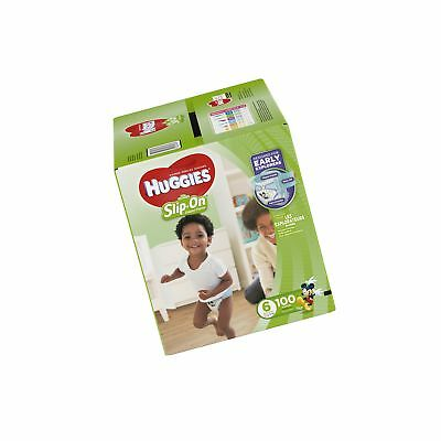 HUGGIES Little Movers Slip On Diaper Pants, Size 6, 100 Count, ... Free Shipping