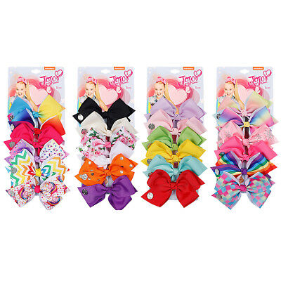 6X Kid Baby Girl Children Toddler Multicolor Hair Clip Bow Access Hairpin lot