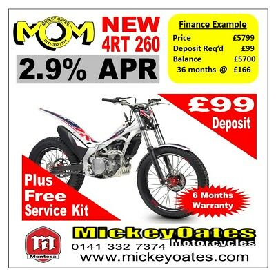 New 2018 Montesa 260 4RT £5799 + Free Service Kit + 2.9% APR Finance