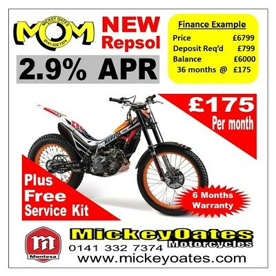 New 2018 Montesa Repsol 260 4rt + Free Service Kit + 2.9% APR Finance