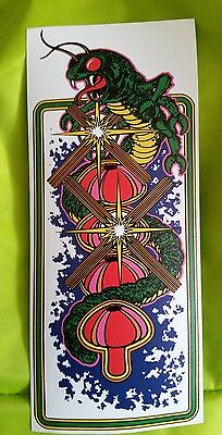 Centipede cabinet art sticker. 4 x 9.25 (Buy any 3 stickers, GET ONE FREE!)