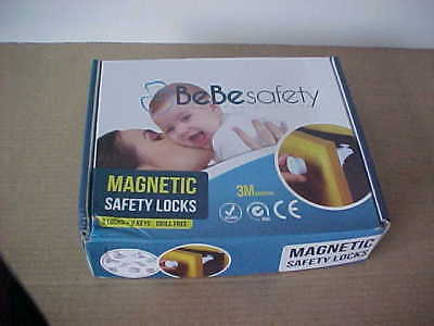 BeBe Safety Baby or Pet Magnetic Safety Locks x 8 - unused in boxed
