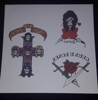 Guns N Roses Promo Tattoo Appetite For Destruction 2018 Geffen Locked N Loaded