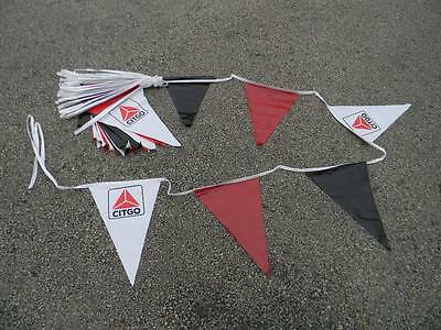 NOS Vintage Citgo Flag Banner New Never Used 80 foot long