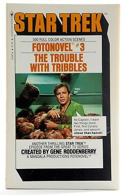 Star Trek Fotonovel #3 The Trouble With Tribbles