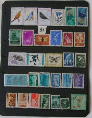 BULGARIA Mixed Lot of Stamps Used 01