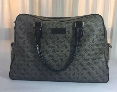 Guess Los Angeles Logo Print Carry On Overnight Bag