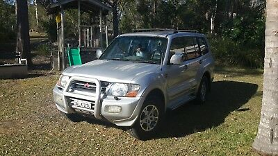 2001 pajero exceed, 7 seater auto, petrol/lpg top of the range $2999