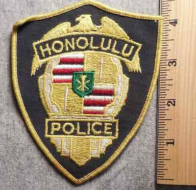 Honolulu Police Patch (Highway Patrol, Sheriff, Ems, State)
