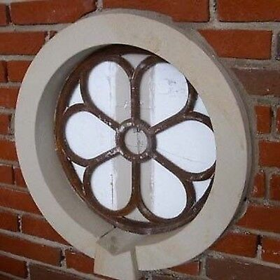Iron Window, round Window, Barn Window, Window Iron, Antique, Big, New
