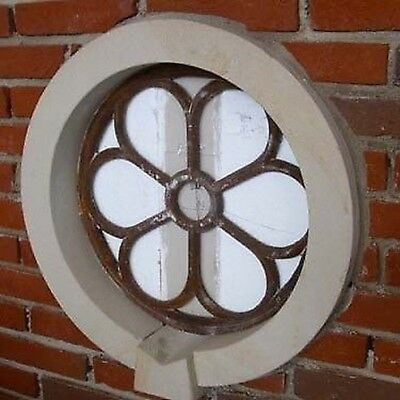 Iron Window, round Window, Barn Window, Window Made of Iron, Antique, Large, New
