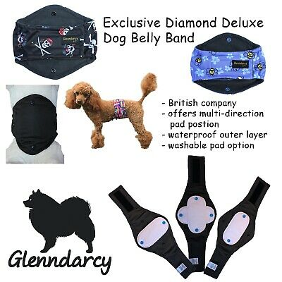 Glenndarcy Diamond Male Dog Belly Band I Multi Directional Coverage