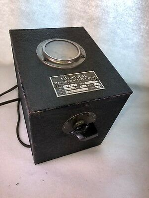 General Transformer Corp Adjust-A-Volt Variable Auto Transformer Tested  Working
