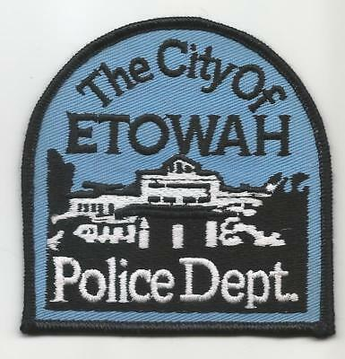 Etowah TENNESSEE TN Police patch