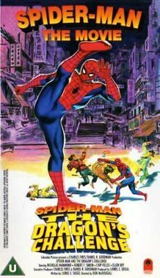 Spider Man: The Dragon's Challenge [1979] [VHS Tape]