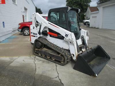 2015 Bobcat T650 Skid Steer Loader, EROPS, Heat/AC, 74 HP Doosan, High Flow Hyd.