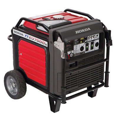 Honda EU7000iS 7000W Gas Powered Fuel Injected Generator Inverter Electric Start