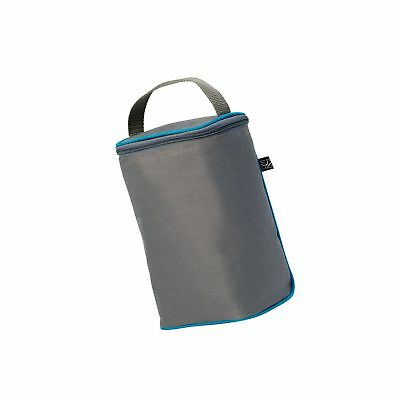 J.L. Childress TwoCOOL Double Bottle Cooler, Grey/Teal Free Shipping