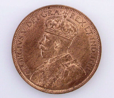 1912 Gem BU Canadian Large Cent Canada One Cent King George V Coin
