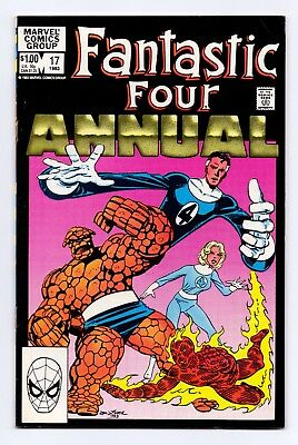 Marvel Comics: Fantastic Four Annuals #17 & #18 - Both Issues!