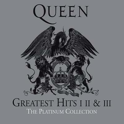 The Queen -  Greatest Hits I.II.III -  The Platinum Collection  3CD BOX NEU OVP