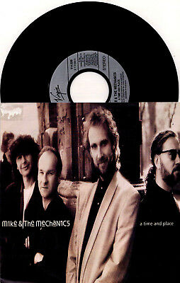 Mike & The Mechanics ‎- A Time And Place / Yesterday, Today, Tomorrow - 7'' Viny