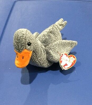 ca5fe503f03 Ty beanie babies Honks (honks The Goose) Original Retired. With Errors.