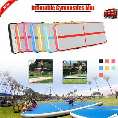 Air Track Inflatable Floor Home Gymnastics Tumbling Mat GYM Competition Mat ER