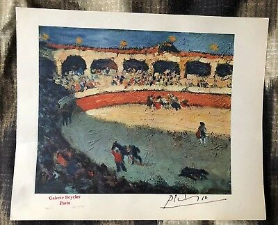 Pablo Picasso Rare Vollard Suite Lithograph Hand Signed