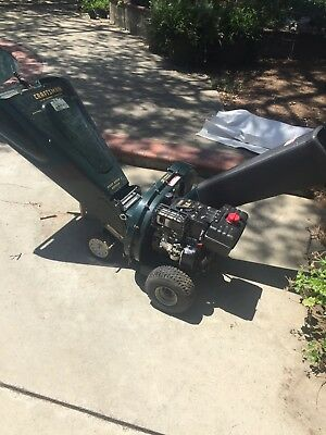 Craftsman Sears 8 Hp Chipper Shredder Starts Right Up Local Pickup Only