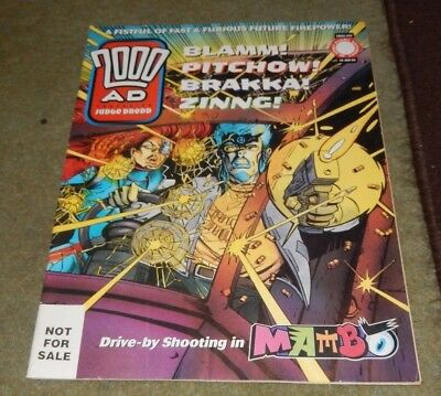 2000AD Ft. JUDGE DREDD COMIC PROG 944 1995 NOT FOR SALE ISSUE NO BARCODE / PRICE