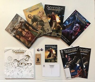 Serenity  Firefly Hardcover + Coloring Book - Joss Whedon FREE SHIPPING