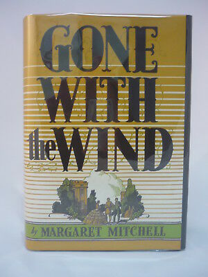 Margaret Mitchell Gone With the Wind 1st Edition Early Printing November 1936
