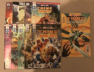 Marvel Two-in-One 1 - 10 & Annual by Chip Zdarsky, Jim Cheung (Marvel) 1st Print