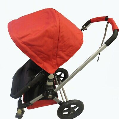 Red Canopy Shade Wire Seat Liner Basket for Bugaboo Stroller Cameleon 1 2 3 Frog
