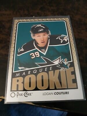 2009-10 OPC O-Pee-Chee Marquee ROOKIE #794 Logan Couture San Jose Sharks RC
