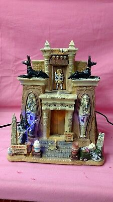 """Lemax Spooky Town collection """" Cursed Tomb """""""
