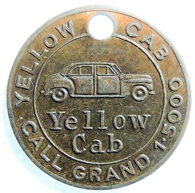 YELLOW CAB KANSAS CITY MO   NEW  Attribution number CHARGE COIN  TYL MO-425-YELD